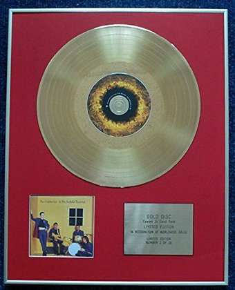 The Cranberries - CD 24 Carat Gold Coated LP Disc - To the Faithful Departed