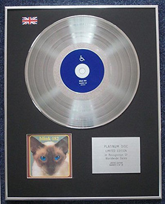 Blink- Limited Edition CD Platinum LP Disc - 182