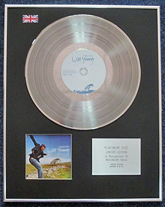 Will Young - Limited Edition CD Platinum LP Disc - Friday's Child