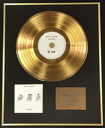 Biffy Clyro - Exclusive Limited Edition 24 Carat Gold Disc - Ellipsis