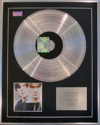THE HOUSE OF LOVE -  Ltd Edition CD Platinum Disc - On Creation Records
