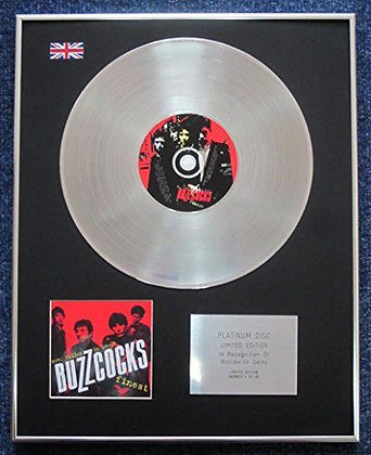Buzzcocks - Limited Edition CD Platinum LP Disc - Buzzcocks Finest