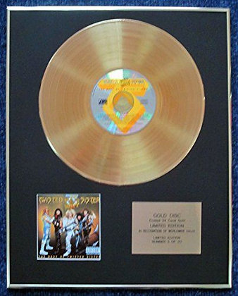 Twisted Sistert - Limited Edition CD 24 Carat Gold Coated LP Disc - Big Hits…