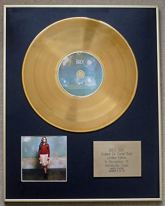 Birdy - Exclusive Limited Edition 24 Carat Gold Disc - 'Birdy