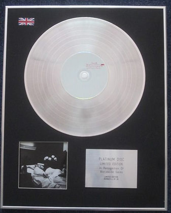ANTONY AND THE JOHNSON - Limited Edition CD Platinum LP Disc - I AM A BIRD NOW