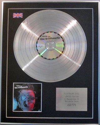 THE WILDHEARTS -  Limited Edition CD  Platinum Disc  - EARTH VS THE WILDHEARTS