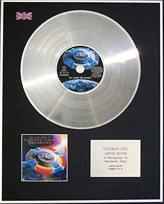 ELECTRIC LIGHT ORCHESTRA -CD Platinum Disc ALL OVER THE WORLD