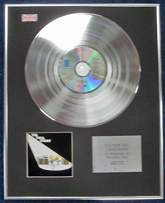 FREE - Limited Edition CD Platinum Disc - THE FREE STORY