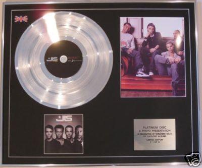 J L S  -  CD Platinum Disc+Photo - J L S