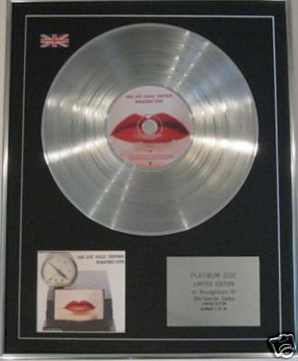 RED HOT CHILLI PEPPERS -CD Platinum Disc -GREATEST HITS
