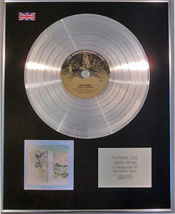 STEVE HACKETT - CD Platinum Disc - VOYAGE OF THE ACOLYTE