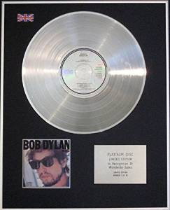 BOB DYLAN - CD Platinum Disc - INFIDELS