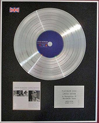 STEVIE WONDER - CD Platinum Disc- SONG REVIEW (Very best of)