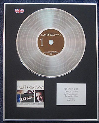 James Galway - Limited Edition CD Platinum LP Disc - The Very Best Of