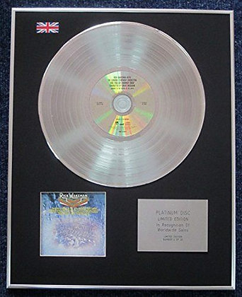 Rick Wakeman - Limited Edition CD Platinum LP Disc - Journey to the?