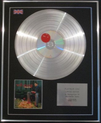 WILL YOUNG CD Platinum Disc- KEEP ON