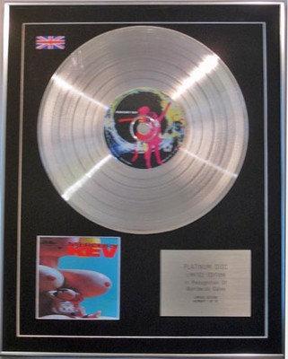 Mercury Rev  -  Limited Edition  Platinum Disc  - Boces