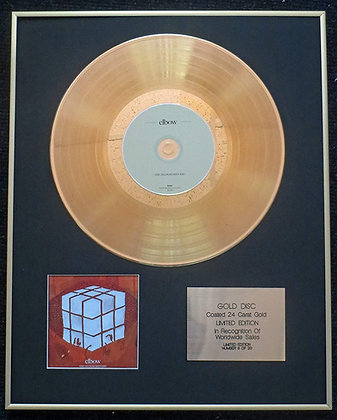 Elbow - Exclusive Limited Edition 24 Carat Gold Disc - The Seldom Seen Kid