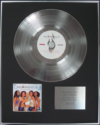 NO ANGELS - Limited Edition CD Platinum Disc - ELLE'MENTS
