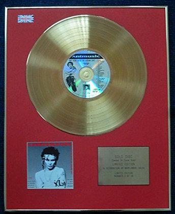Adam Ant - Ltd Edition CD 24 Carat Gold Coated LP Disc - Antmusic - The