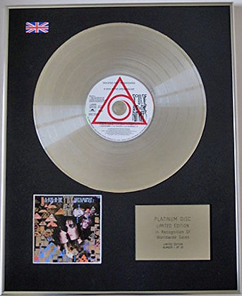 SIOUXSIE & THE BANSHEES - CD Platinum Disc - IN THE DREAMHOUSE
