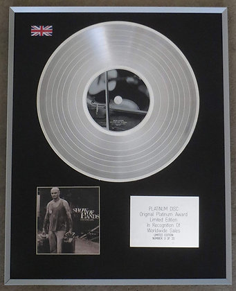 SHOW OF HANDS - Limited Edition CD Platinum Disc - COUNTRY LIFE