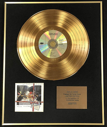 Altered Images - Exclusive Limited Edition 24 Carat Gold Disc - Happy Birthday