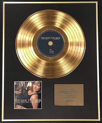 Helene Fischer - Exclusive Limited Edition 24 Carat Gold Disc - Von Hier Bio