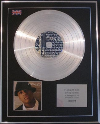 NE-YO - CD Platinum Disc- IN MY OWN WORDS