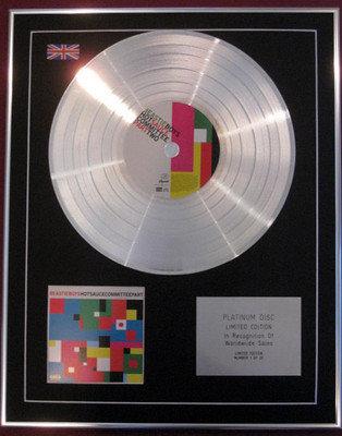 BEASTIE BOYS -  CD Platinum Disc - HOTSAUSECOMMITTEEPARTTWO