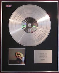 THERAPY - CD Platinum Disc- TROUBLEGUM