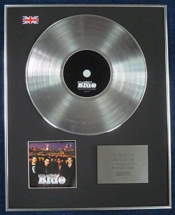 BLUE - Limited Edition CD Platinum LP Disc - THE BEST OF