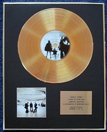 U2 - LTD Edition CD 24 Carat Gold Coated LP Disc - All That You…