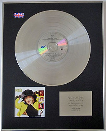 SONIA - CD Platinum Disc - EVERYBODY KNOWS