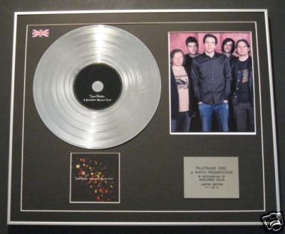 SNOW PATROL -Platinum Disc+Photo-A HUNDRED MILLION SUNG