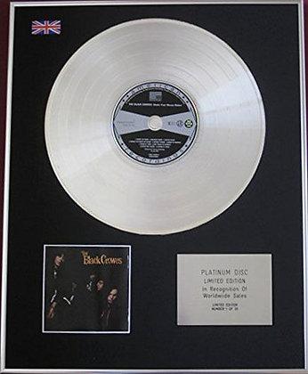BLACK CROWES - CD Platinum Disc - SHAKE YOUR MONEY MAKER