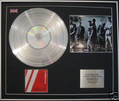 RAMMSTEIN -Ltd Edt CD Platinum Disc+Photo- REISE,REISE