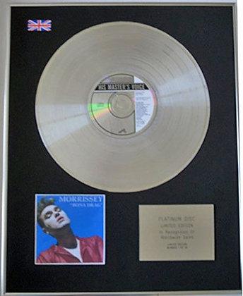 Morrissey  - (Of The Smiths )  - Limited Edition Cd Platinum  - Bona Drag