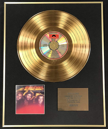 Bee Gees - Exclusive Limited Edition 24 Carat Gold Disc - Spirits Having Flown
