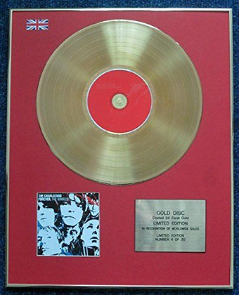 The Charlatans - CD 24 Carat Gold Coated LP Disc - Forever The Singles