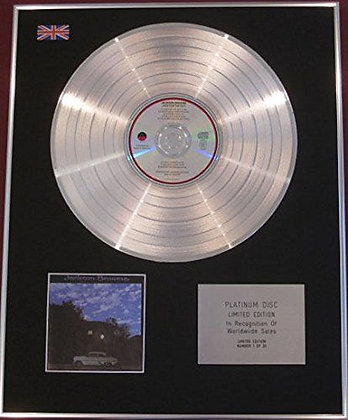 JACKSON BROWNE - CD Platinum Disc - LATE FOR THE SKY