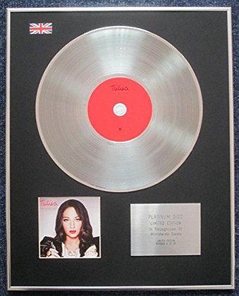 Tulisa (N-Dubz) - Limited Edition CD Platinum LP Disc - The Female Boss