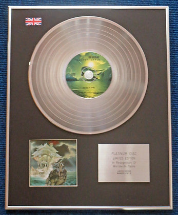 Dave Greenslade - Limited Edition CD Platinum LP Disc -Cactus Choir