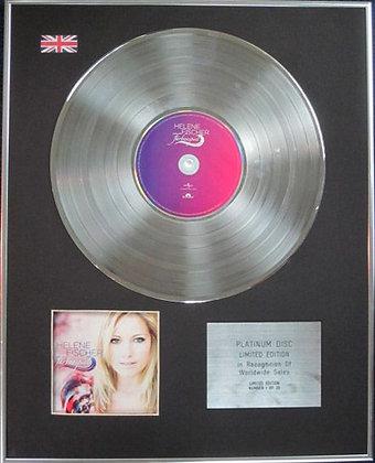 HELENE FISCHER - Limited Edition CD Platinum Disc - FARBENSPIEL