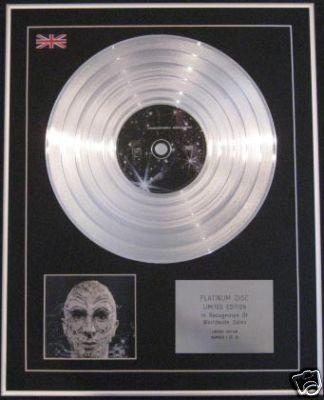 MARK ALMOND- Ltd Edtn CD Platinum Disc- STRANGER THINGS