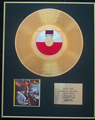 Roberta Flack - Exclusive Limited Edition 24 Carat Gold Disc - First Take