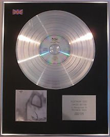 The CURE -  CD Platinum Disc -  FAITH
