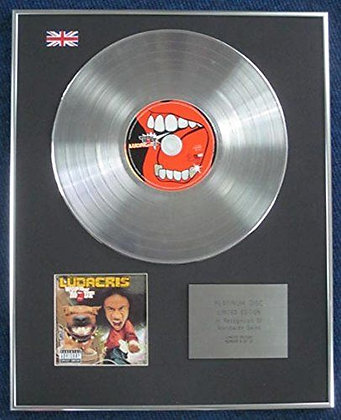 Ludacris - Limited Edition CD Platinum LP Disc - Word of Mouf