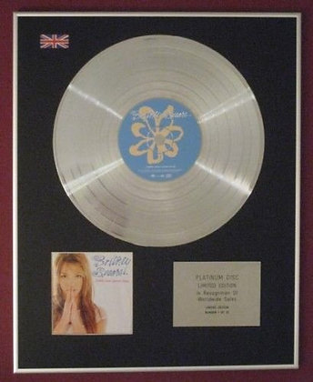 Britney Spears   - Platinum Disc  - Baby One More Time