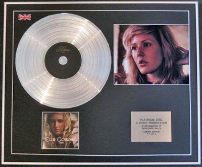 ELLIE GOULDING CD Platinum Disc+Photo-LIGHTS